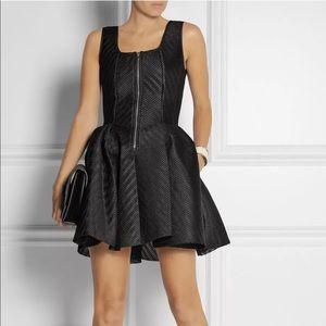 Maje Gulliver Mesh Puffy Skirt Zip Dress Size 2